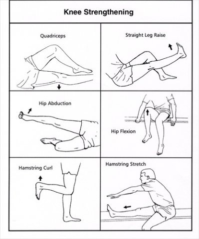 Knee Strengthening and Stretching