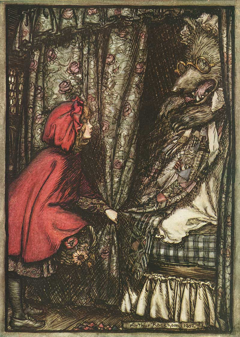 https://commons.wikimedia.org/wiki/File:Arthur_Rackham_Little_Red_Riding_Hood.jpg