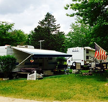 large, flat campsites
