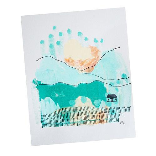 Mono Print, 8