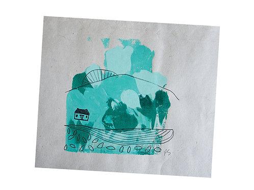 Mono Print, 7