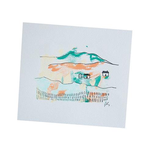 Mono Print, 3