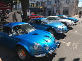 The Originals - A110s in Angouleme