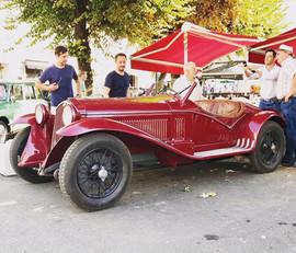 Glorious Alfa 6C at Angouleme