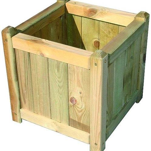 Fioriere legno smontate cipro quadrate cm. 40 x 40 x 40.