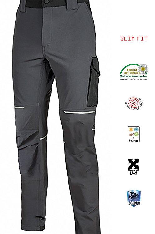 Pantalone world U-power asphalt grey.