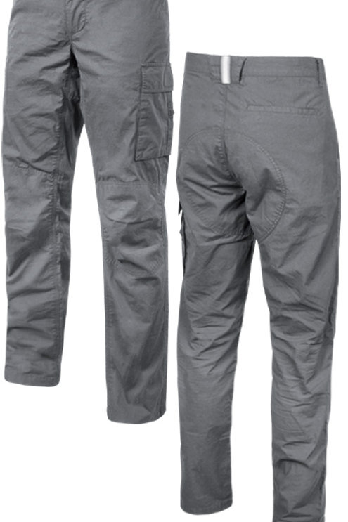 Pantalone lungo U-power grigio ocean.