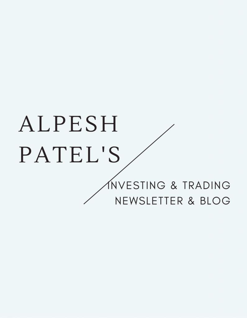 Alpesh Patel Newsletter