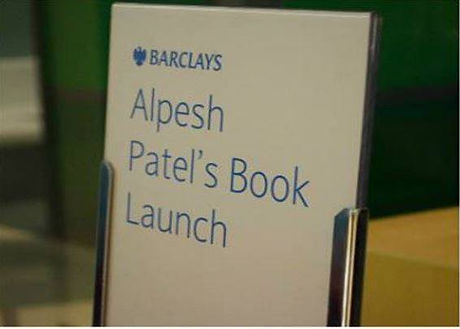 Alpesh Patel Book Launch