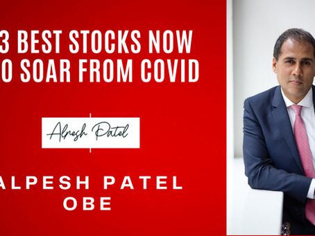 3 Best Stocks Now to Soar from Covid
