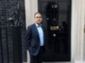 Alpesh Patel at 10 Downing Street