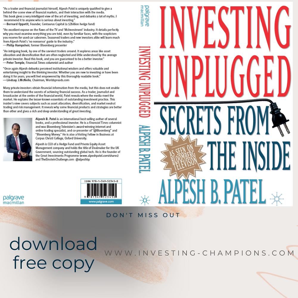 Alpesh Patel Book Investing