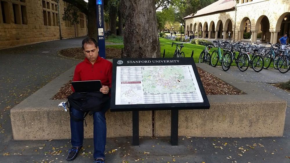 Alpesh Patel at Stanford University working on pipspredator.com algo trading
