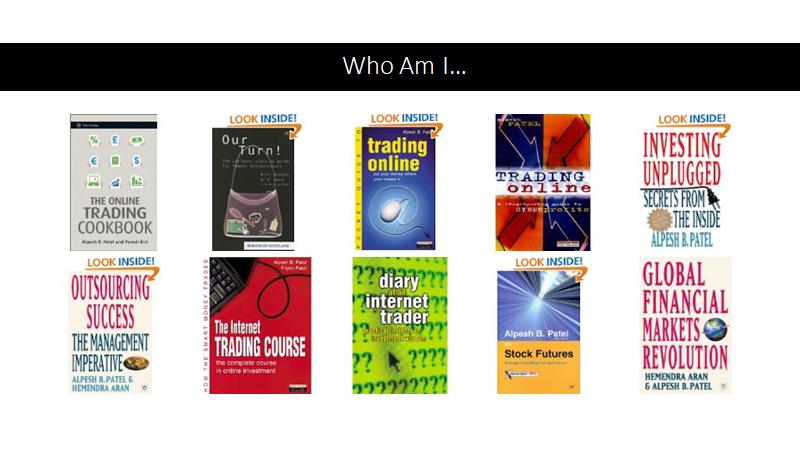 Alpesh Patel Books