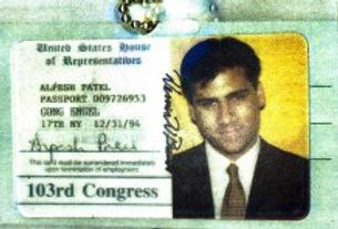 Alpesh Patel working in the United States Congress