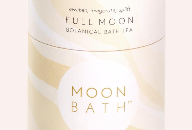 full moon bath tea