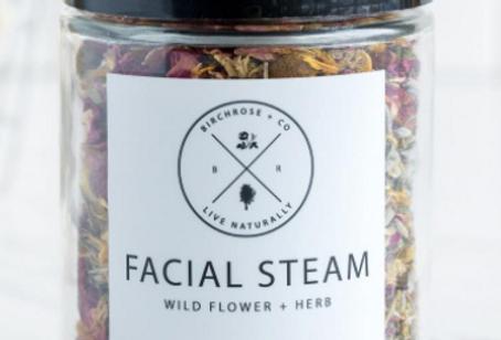 facial steam - wild flower + herb