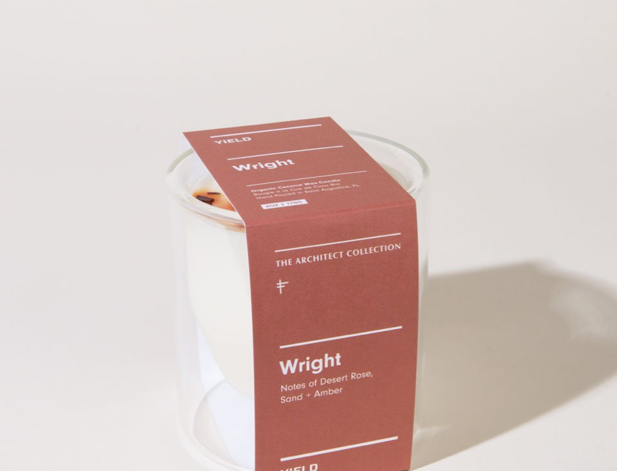 6oz. wright double-wall candle