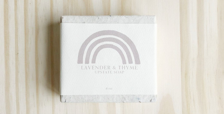 upstate soap - lavender& thyme