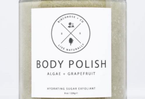 body polish - algae + grapefruit