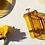 Thumbnail: glass french press - honey