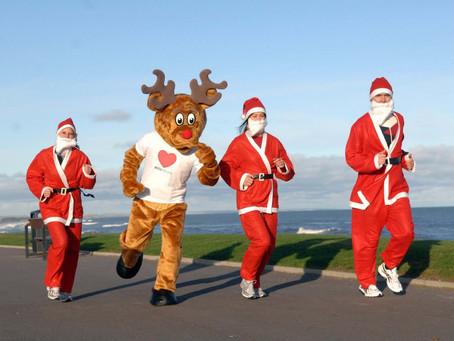 Running during Christmas break