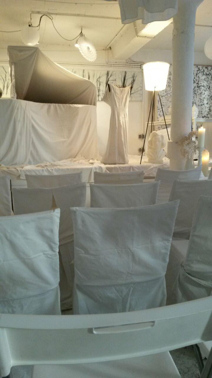 weißes Atelier 1