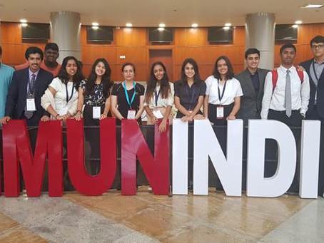 Harvard Model United Nations 2018 at Hyderabad