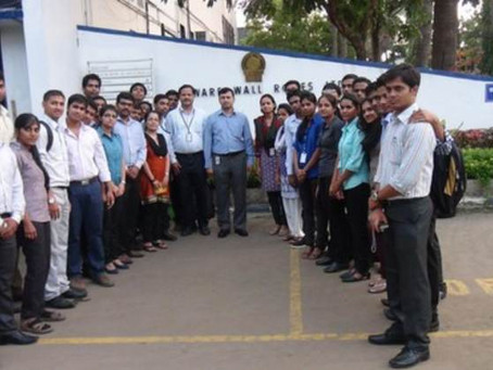 Industrial visit to Garware Wall Ropes Limited