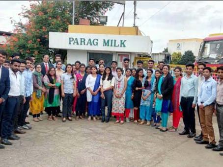 Industrial Visit to Parag Milk Foods