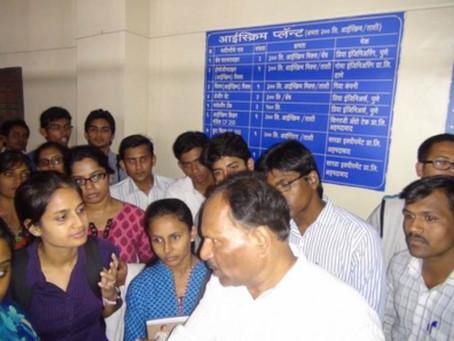 Industrial Visit to Katraj Dairy, Pune