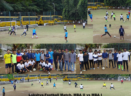 Lakshya –Football match