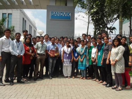 Industrial Visit to Sandvik, Pune