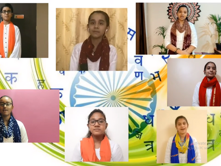 14th SEPTEMBER 2020  HINDI DIWAS – SPECIAL ASSEMBLY