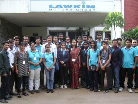 Industrial Visit to Lawkim Motors Group