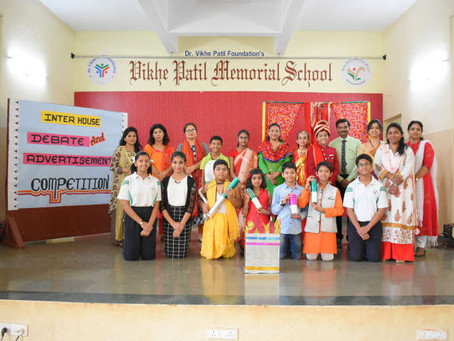 Inter-house Debate and Advertisement Competition