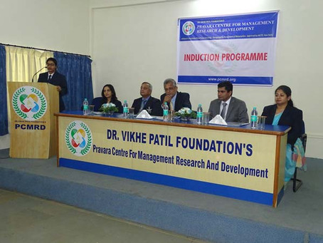Induction Programme of 2017-19 Batch