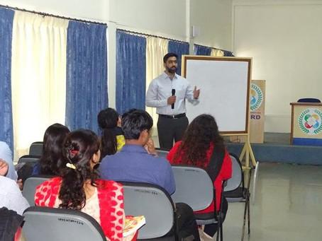 Guest Lecture by Mr. Saurabh Kulkarni