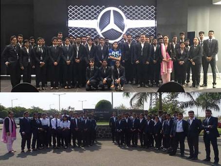 Industrial Visit to Mercedes Benz India Pvt Ltd , Chakan
