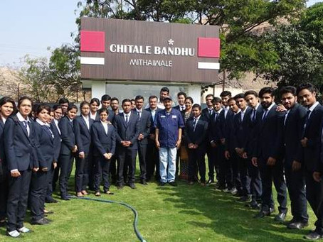 Industrial visit to Chitale Bandhu's Bakarwadi plant