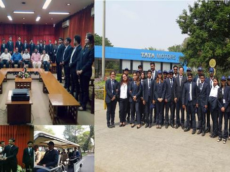 Industrial Visit to Tata Motors Limited