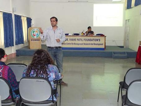 Guest Lecture by Mr. Prathamesh Nirgudkar