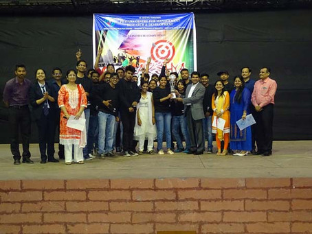 INTRA – INSTITUTE COMPETITION: LAKSHYA 2017