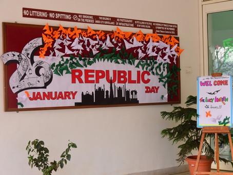 Republic Day Celebrations at VPMS Lohegaon