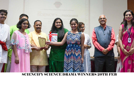 Sciencify 2020 Science Drama