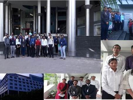 Industrial visit to Qualitia Software Pvt.Ltd.