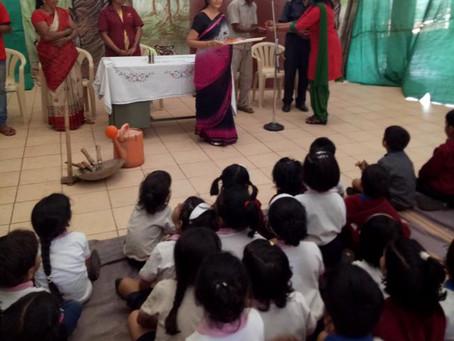 Visit of community helpers