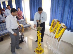 Induction program for the MBA batch of 2013-15