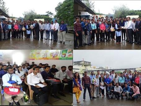 Industrial Visit to Katraj Dairy