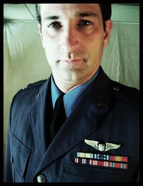 an Air Force officer